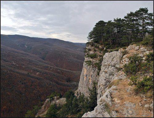 Ноябрь в Большом каньоне Крыма