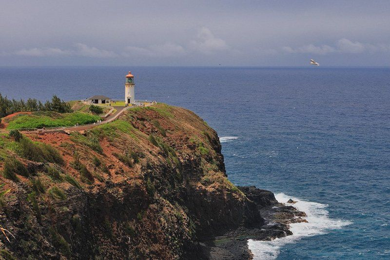 пейзаж, гавайские, острова, кауай, kauai, hawai Kilaueaphoto preview