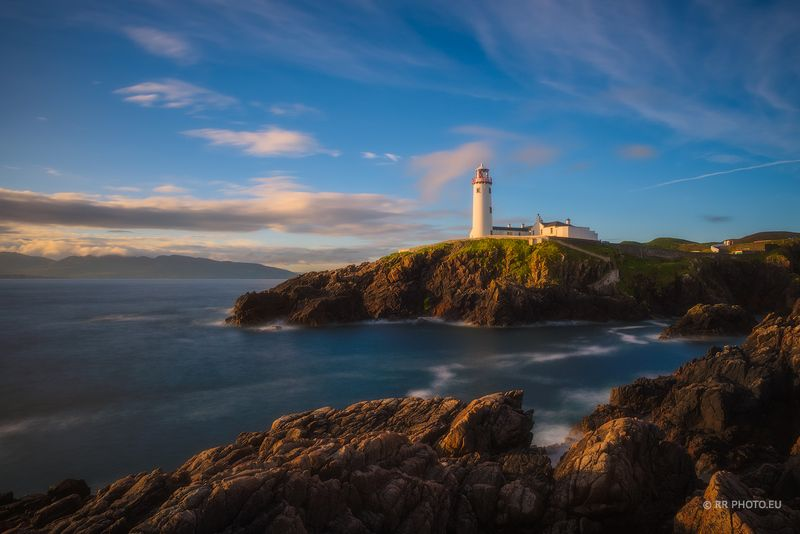 ireland, donegal, landscape, sunrise, nature, fanned head,  Fanad Head Lighthouse - Ireland photo preview