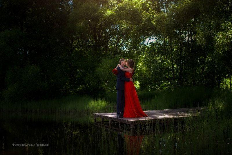свадьба невеста лето природа Свадьбаphoto preview