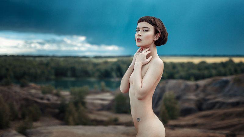 портрет, арт, модель, portrait, art Поляphoto preview