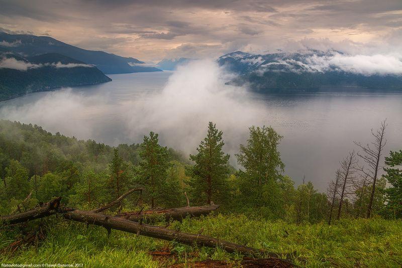 алтай, сибирь, siberia, лето, телецкое озеро, туман, дождь, алтайский заповедник, облака После дождяphoto preview