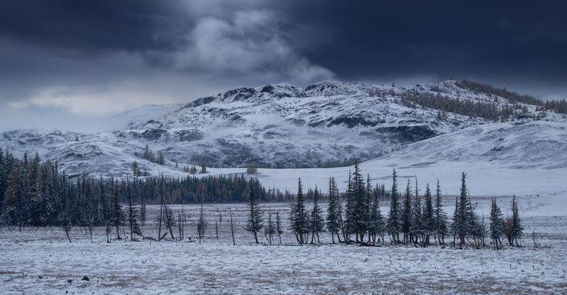 алтай, горы, осень, зима Алтайская сказкаphoto preview