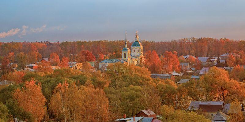 осень, городской пейзаж, подмосковье, лобня, киово Осень в Киовоphoto preview