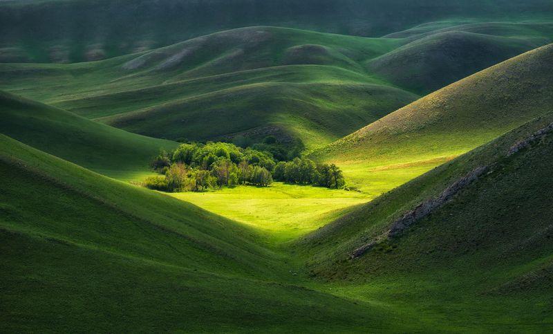 южный урал, долгие горы Бархатные склоны Урала.photo preview