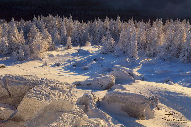 таганай, зима, южный урал Сказки зимнего леса.photo preview