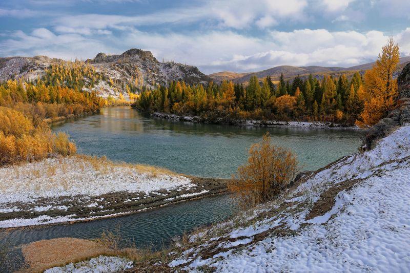 Чуя. Сентябрьский снег.photo preview