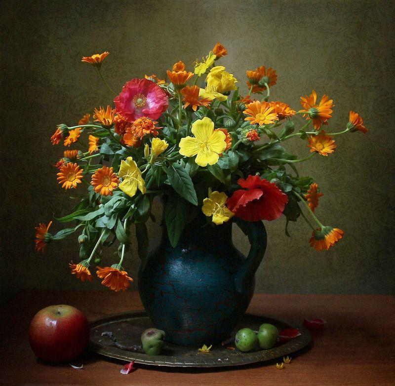 натюрморт, цветы, марина филатова В красках осени есть притяжениеphoto preview