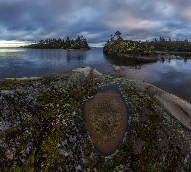 Ладожское озеро, Ладога, Карелия, шхеры Ладожский взорphoto preview