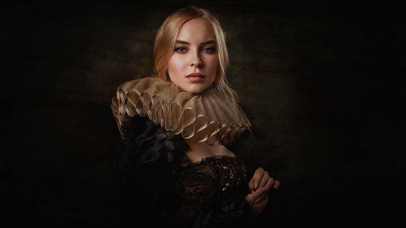 портрет, арт, модель, portrait, art Викаphoto preview