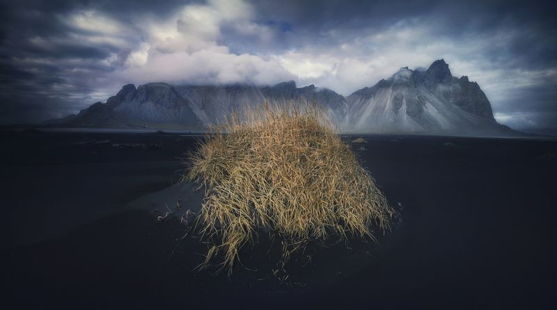 iceland, landscape, nature, travel mountain, пейзаж, природа Vesturhornphoto preview