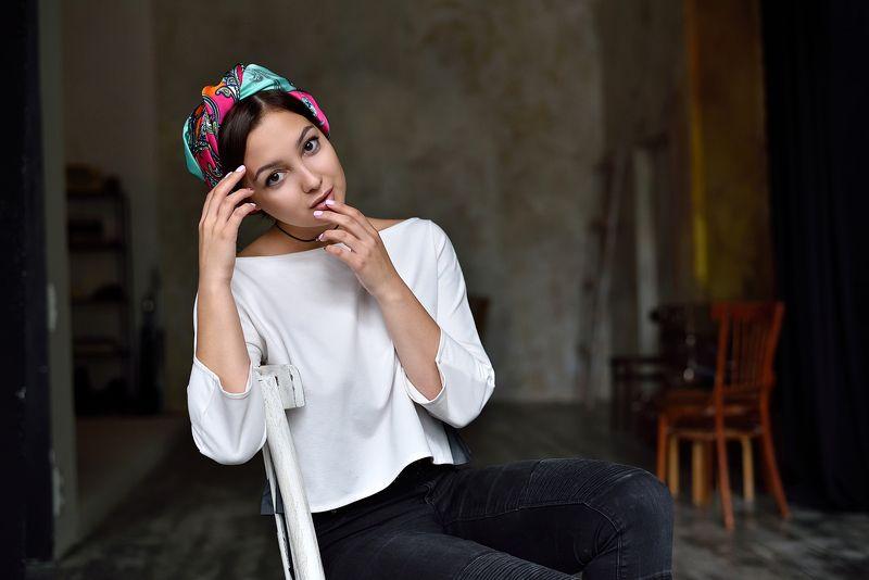portrait, nikon, 85mm, model, портрет Yanaphoto preview