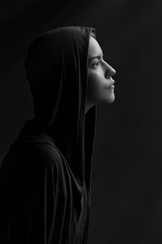 портрет bw black dark Из серии Dark Side портрет...photo preview