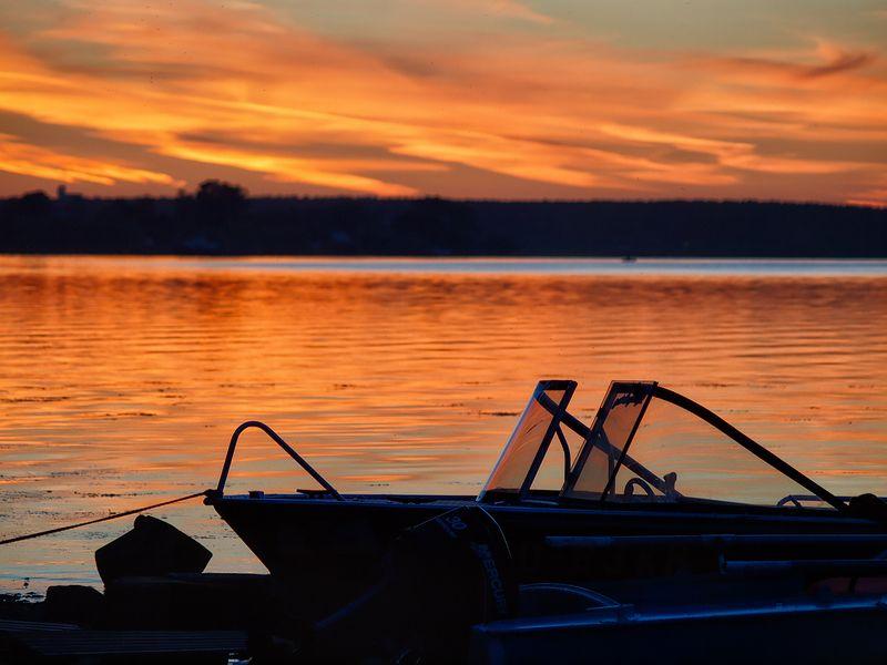 Однажды на закате в Калязине...photo preview