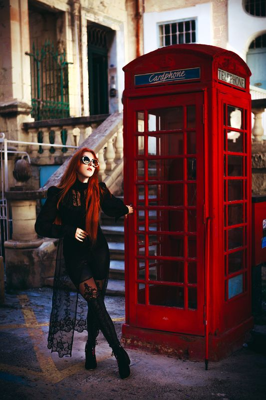 woman, fashion, valletta, redhead, natural light One day in Vallettaphoto preview