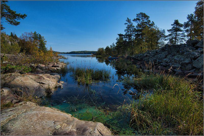 карелия, ладожское озеро, сентябрь Ладожские шхерыphoto preview