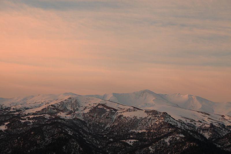 горы, малые, большие, бамбаки Рассвет, тишина...photo preview