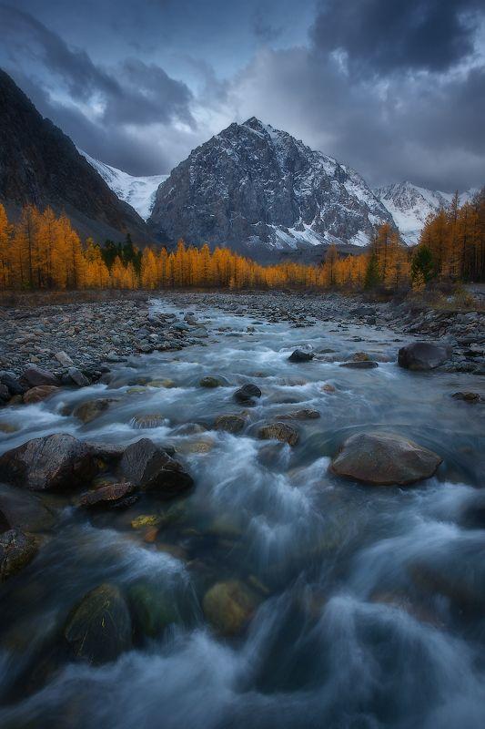 алтай, горы, осень, актру Осенний Актруphoto preview