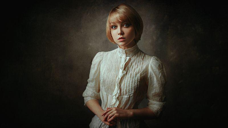 портрет, арт, модель, portrait, art Оляphoto preview