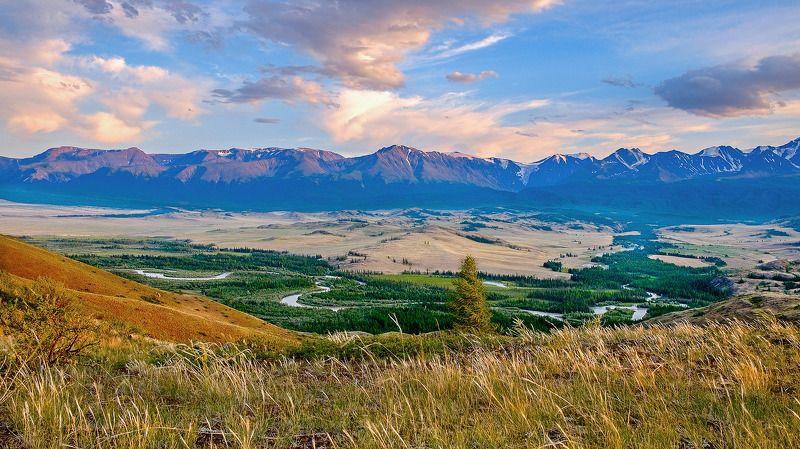 пейзаж, осень, горы, Горный Алтай  Вечерело!  photo preview