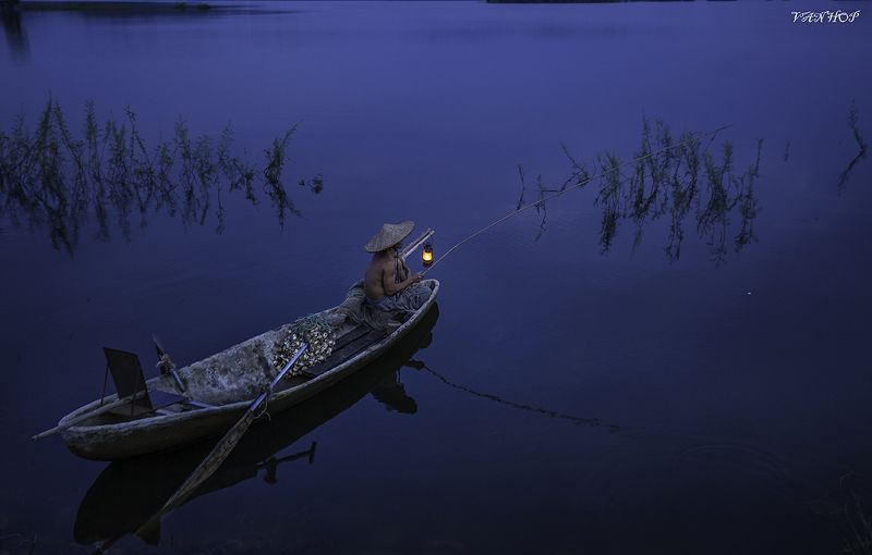 Fishing nightphoto preview