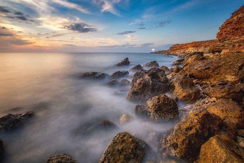херсонес, балаклава,крым, закат, вечер,море Вечер на мысе Херсонесphoto preview