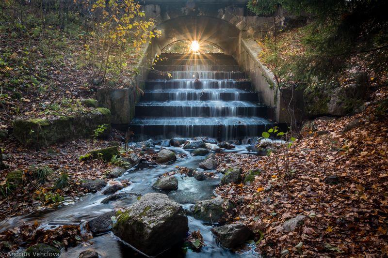 Солнце под мостомphoto preview