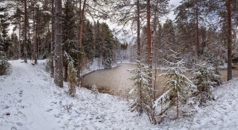 свежим снегом умываясь...photo preview