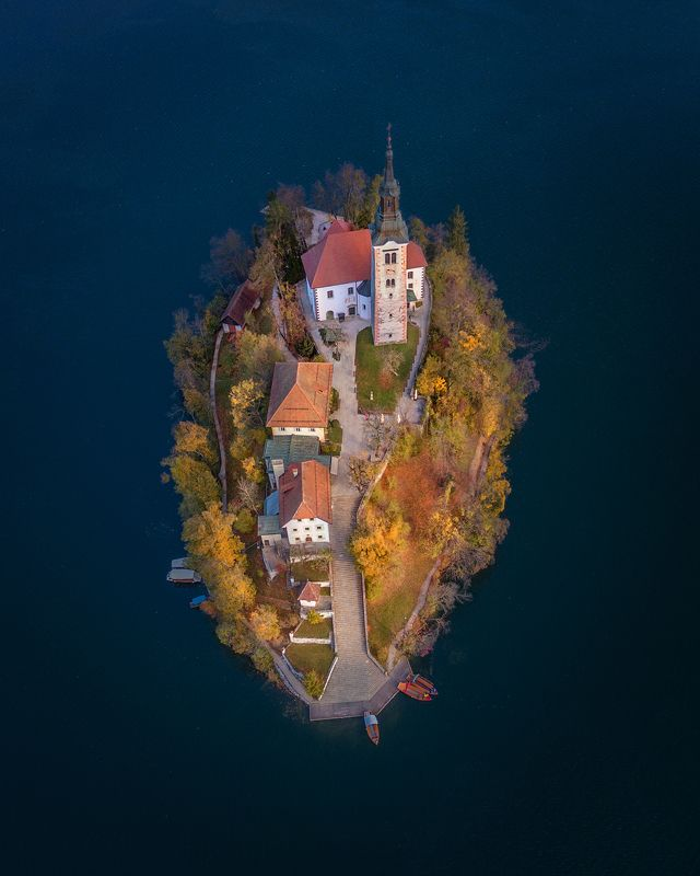 блед, слования, bled, slovenia, Romantic isolation.photo preview