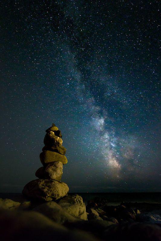 Млечный Путь над Черным моремphoto preview