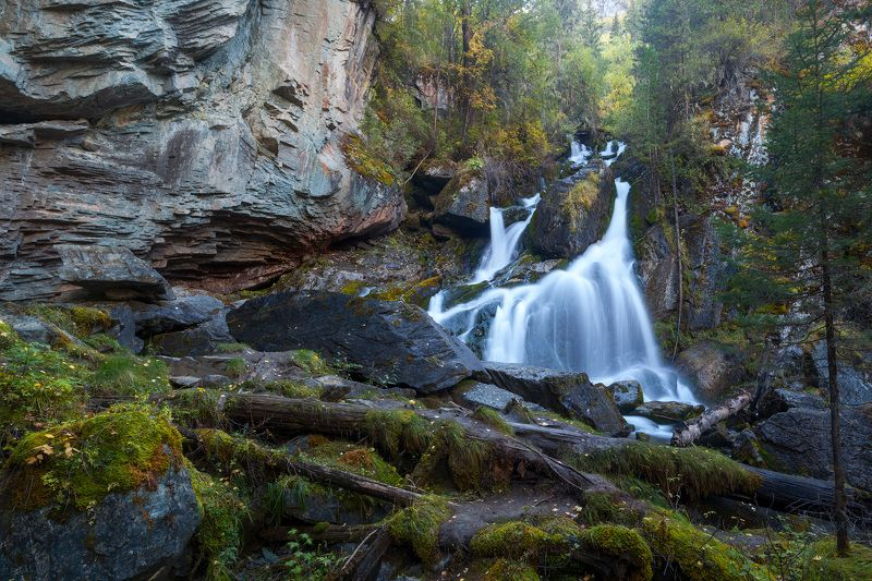 Водопад на Нижняя Карасуphoto preview