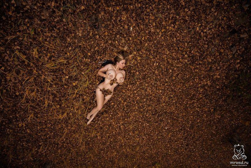 Михаил Решетников, ню, осень, листья, Новосибирск осенее 2photo preview