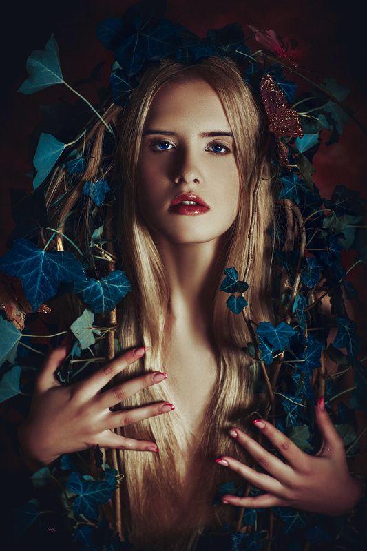 woman, portrait, studio, art, beauty Wild lives in her soulphoto preview
