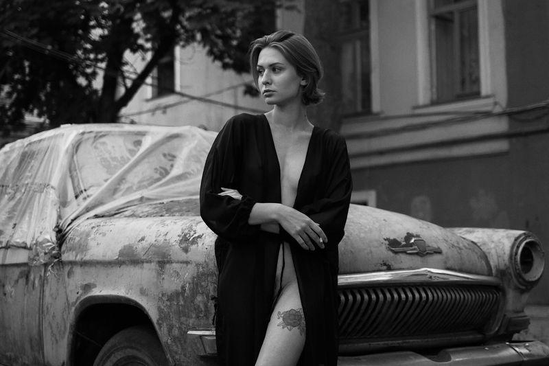 fine, art, nudes Утро в Одесском дворике.photo preview