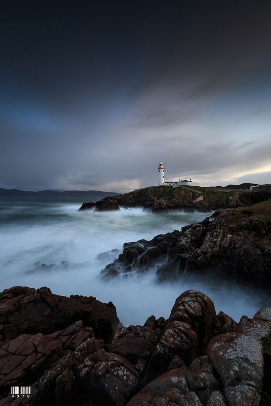 ireland, donegal, fanad head lighthouse, longexposure, sigma, nisi, lee, haida, suset, clouds, canon Fanad Head Lighthousephoto preview