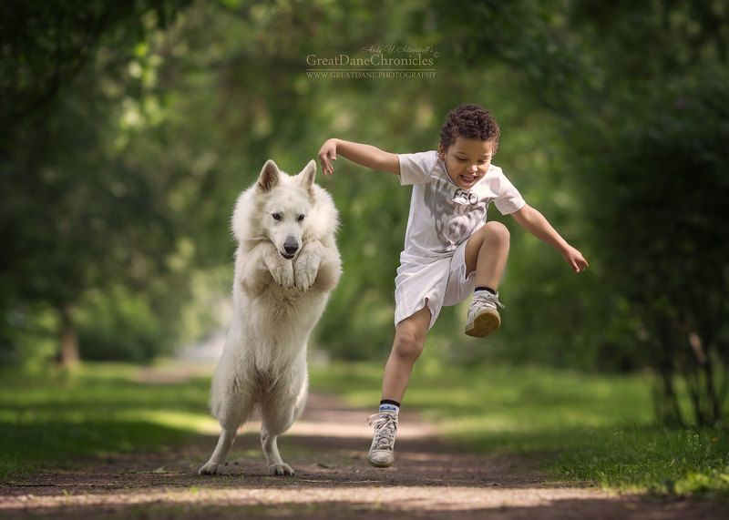 Max and Tuco. Double Jumpphoto preview