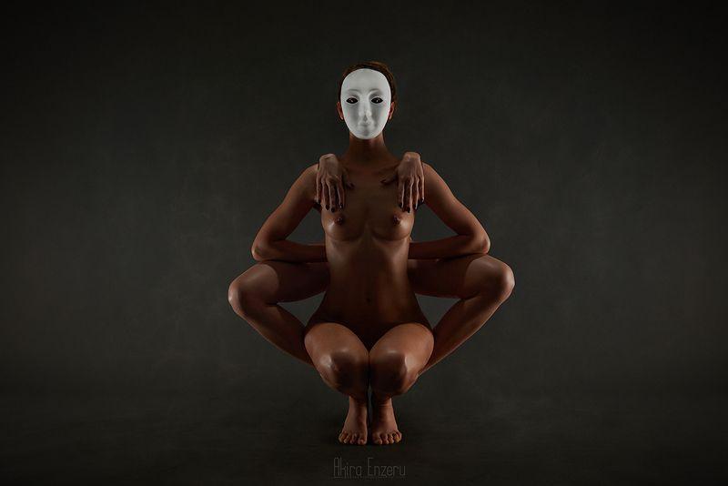 ballerina, dance, dancing, portrait, nude, studio Тотемphoto preview