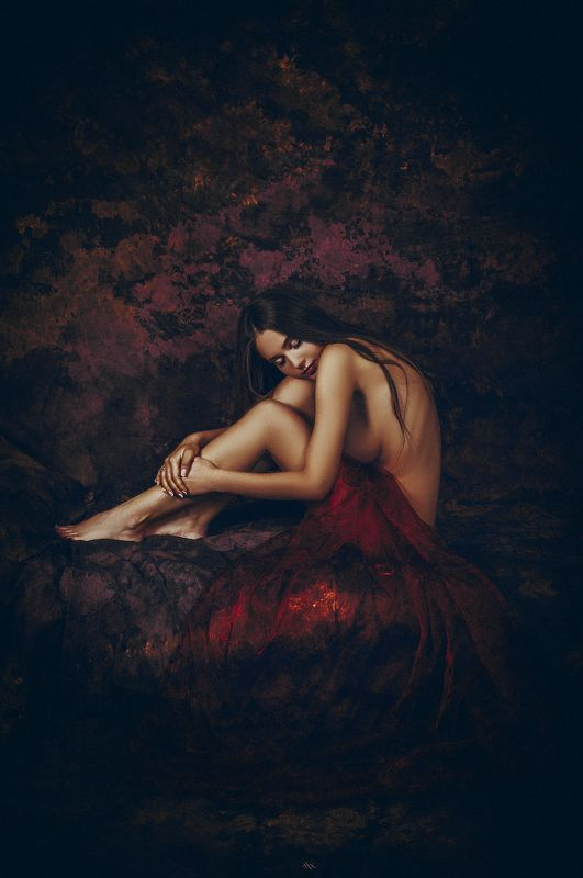 woman, portrait, studio, art, beauty, nude If you listen carefully, the silence is beautifulphoto preview