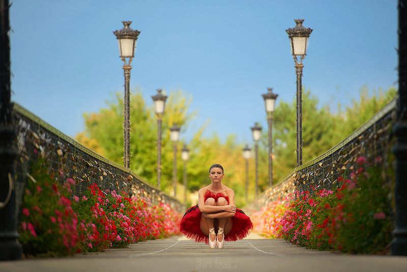 ballerina, dance, dancing, portrait, street, outdoor ***photo preview