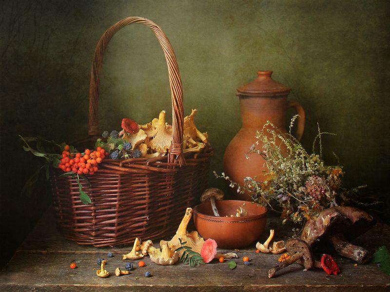 натюрморт, грибы, марина филатова Грибная пораphoto preview