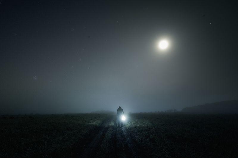 луна туман ночь Sleepwalkerphoto preview