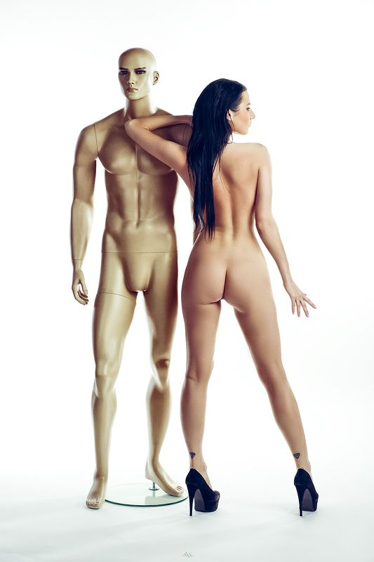woman, nude, studio, light Artificial lovephoto preview