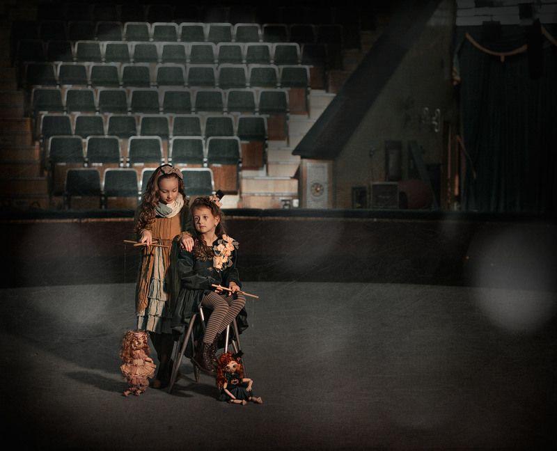 цирк, дети цирка, париж, Дети циркаphoto preview
