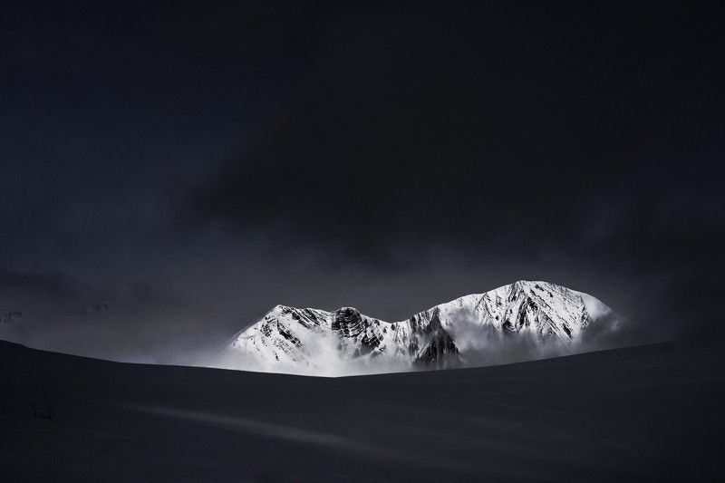 snow, mountains, ice, paysage d\\\'hiver, black metal, nature photographe, nature, tolkien, frozen, abstract, ambiant, oisans, france Welt Aus Eisphoto preview