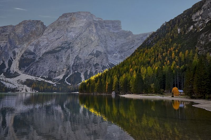 Lago di Braies, Dolomites, Italy Duskphoto preview