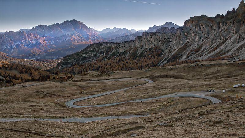 дорога в Альпахphoto preview