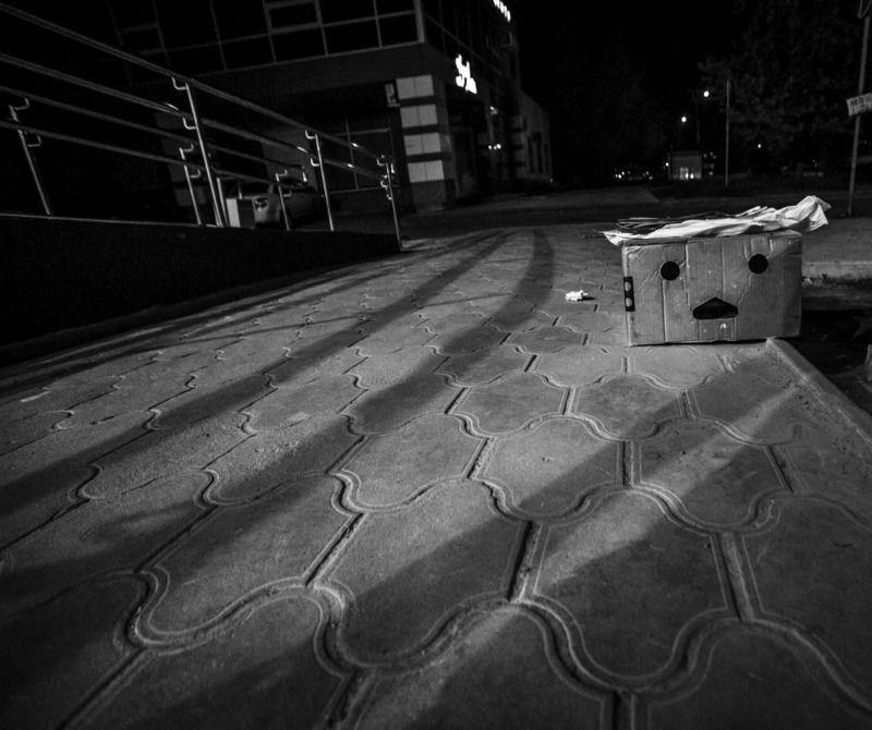город,улица,ночь Город спитphoto preview