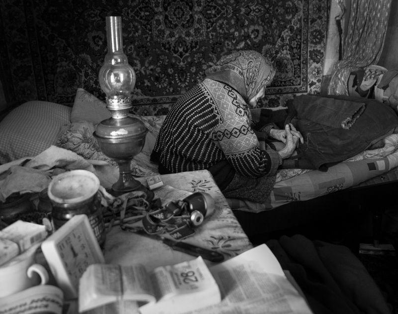 Старость в одиночестве.photo preview