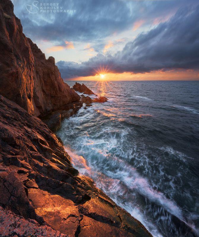 Горящие скалы Териберских береговphoto preview