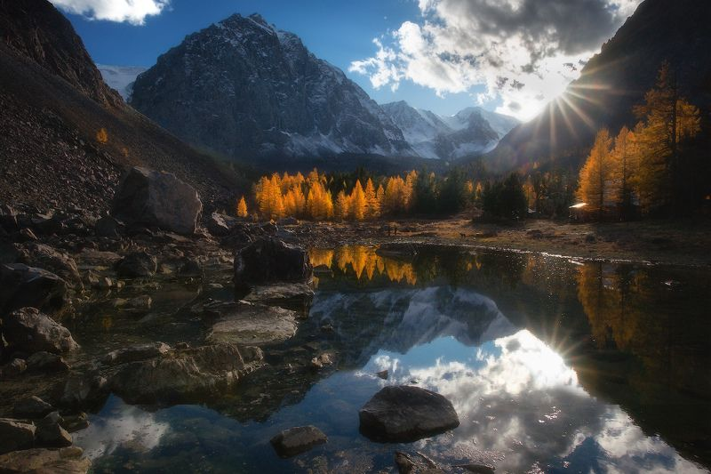 алтай, горы, осень, актру, сачки Сачкиphoto preview